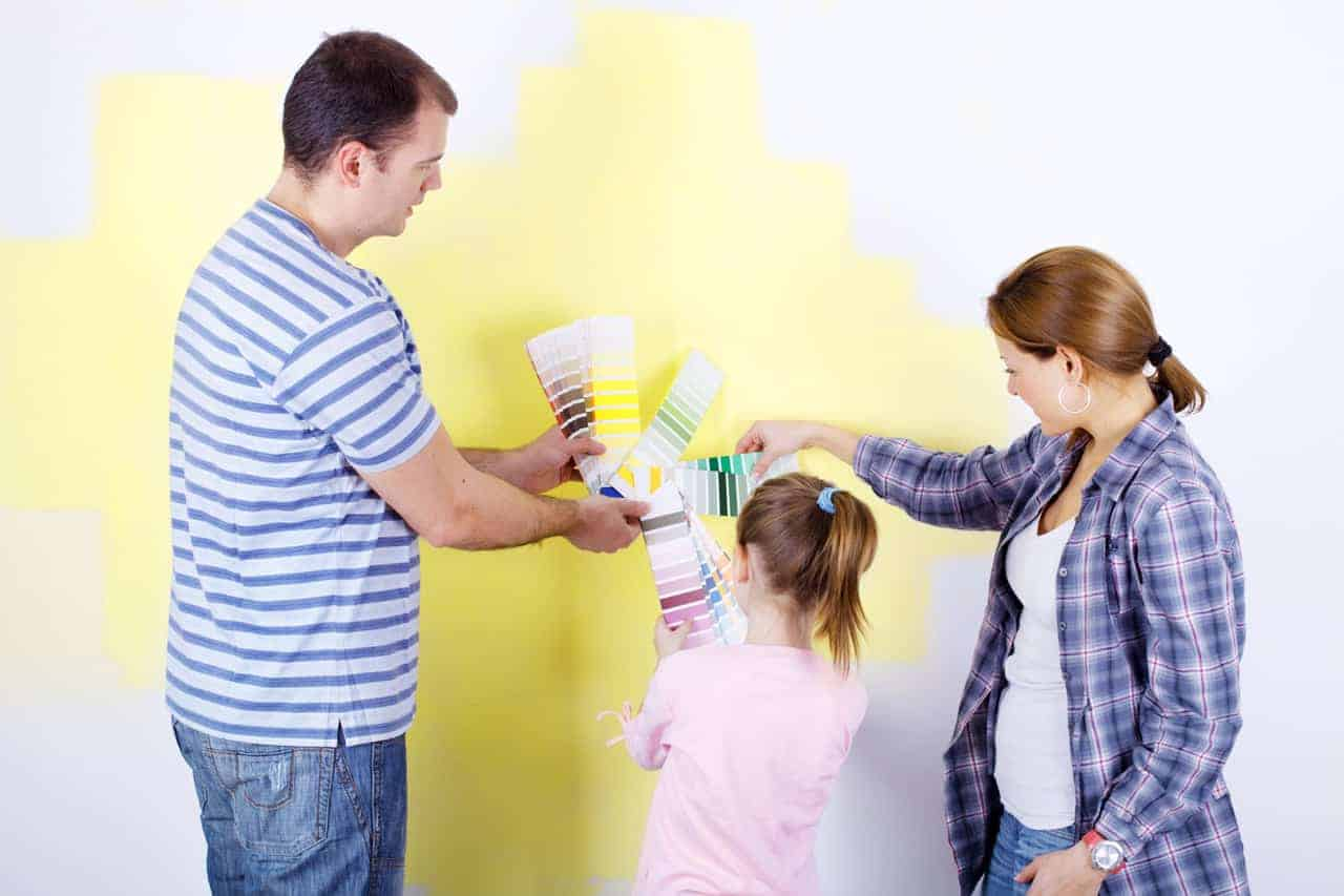 Let your child choose their paint color
