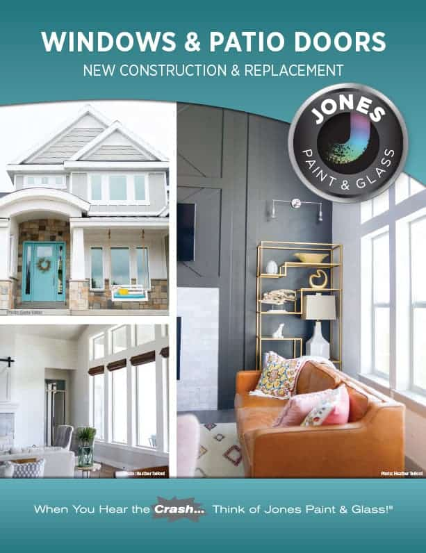 Jones Paint & Glass Vinyl Window Catalog