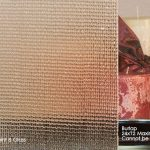 Burlap textured glass as part of our decorative glass series at Jones Paint & Glass