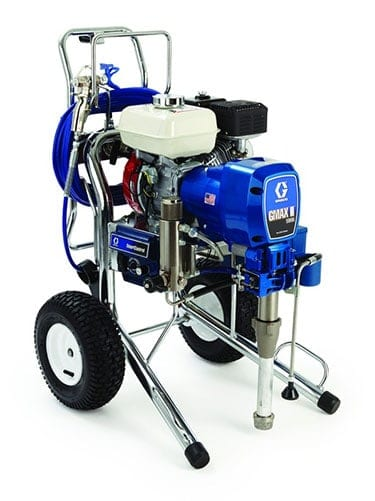 Graco sprayer for large-scale paint projects such as applying deck stains and exterior house paint