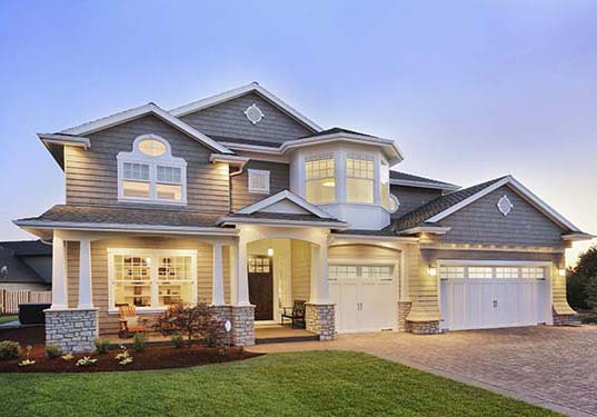 Luxury home with all new replacement windows, doors, and garage doors