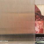 1/4 Inch Reed patterned glass for sale at Jones Paint & Glass