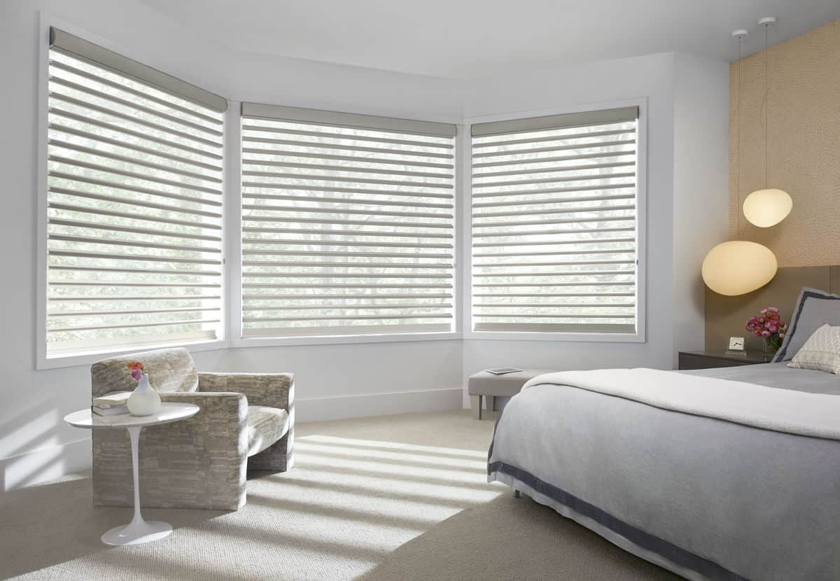 Window coverings windows jones paint and glass utah for Hunter douglas motorized blinds troubleshooting