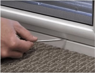 Vertical Window Vent Removal
