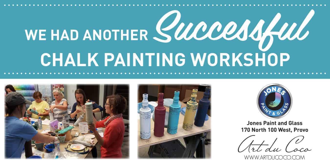 Chalk Painting Class Slider