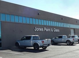 Jones Paint & Glass building in Cedar City Utah