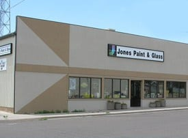 Jones Paint & Glass building in Roosevelt Utah