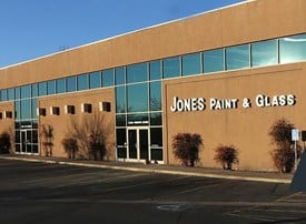 Jones Paint & Glass building in St George Utah