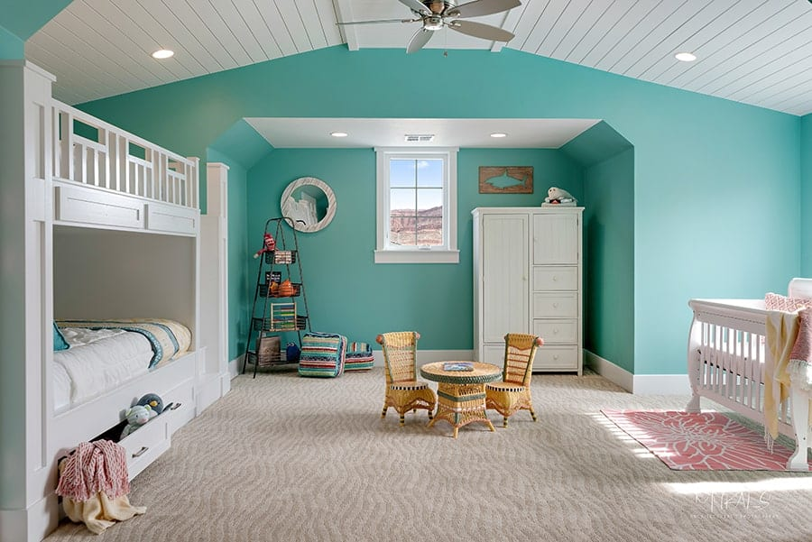2018 Interior Paint Color Trends Blue-Green