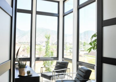Floor to Ceiling Windows with Black Frames in Office from Window Store in Utah